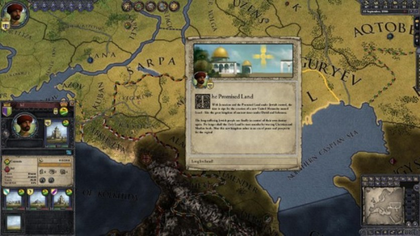 Screenshot 1 - Crusader Kings II: Sons Of Abraham Expansion