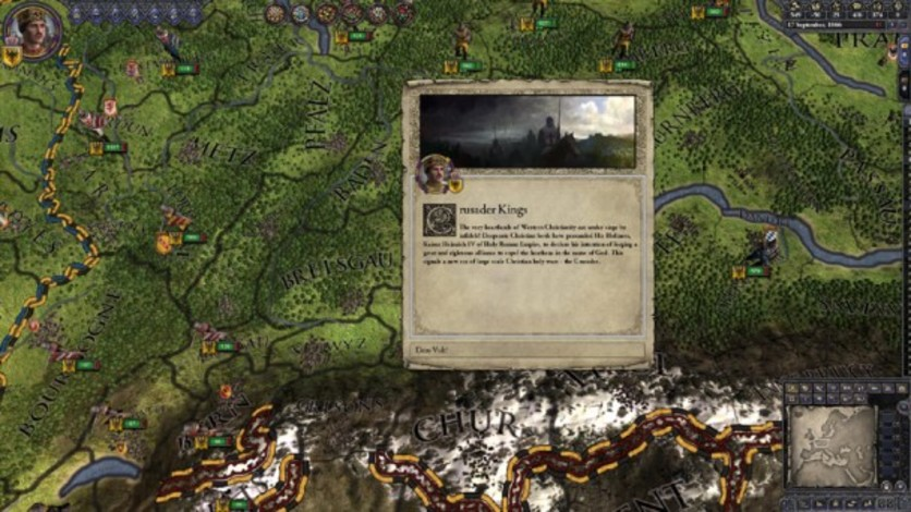 Screenshot 4 - Crusader Kings II: Sons Of Abraham Expansion