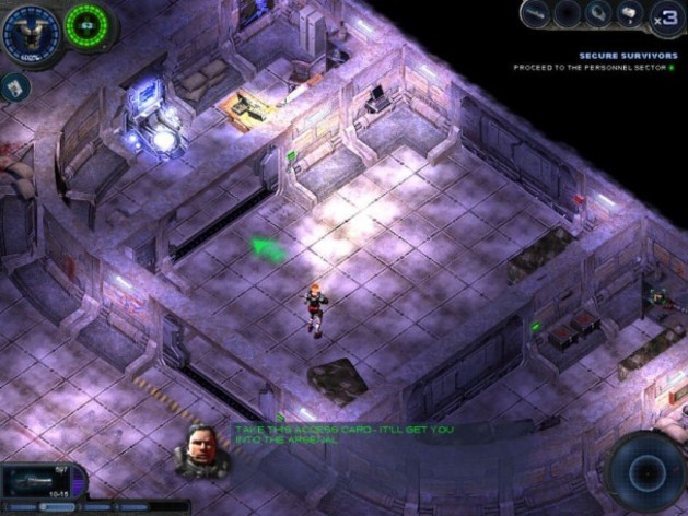 Screenshot 3 - Alien Shooter 2 Reloaded