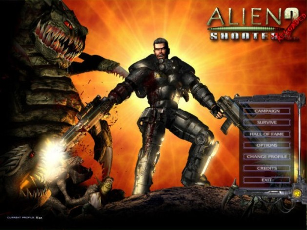 Screenshot 2 - Alien Shooter 2 Reloaded