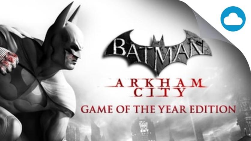 Screenshot 1 - Batman Arkham Asylum GOTY