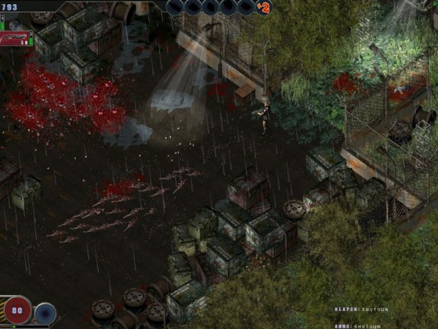 Screenshot 1 - Zombie Shooter