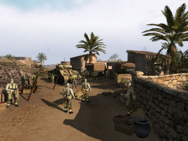 Screenshot 1 - Men of War
