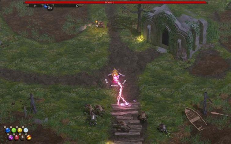 Screenshot 3 - Magicka: Marshlands