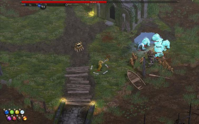 Screenshot 1 - Magicka: Marshlands