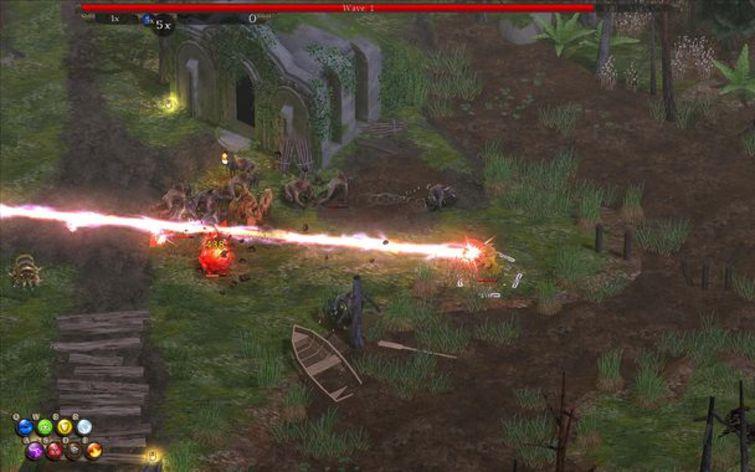 Screenshot 2 - Magicka: Marshlands