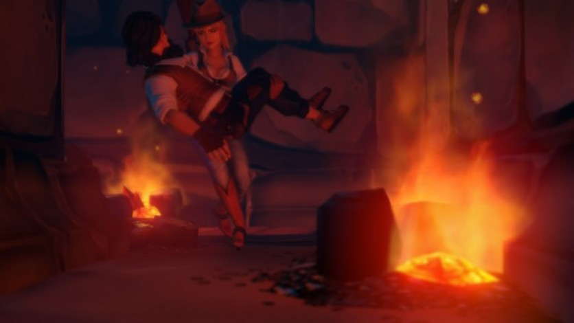 Screenshot 2 - Jack Keane 2 - The Fire Within