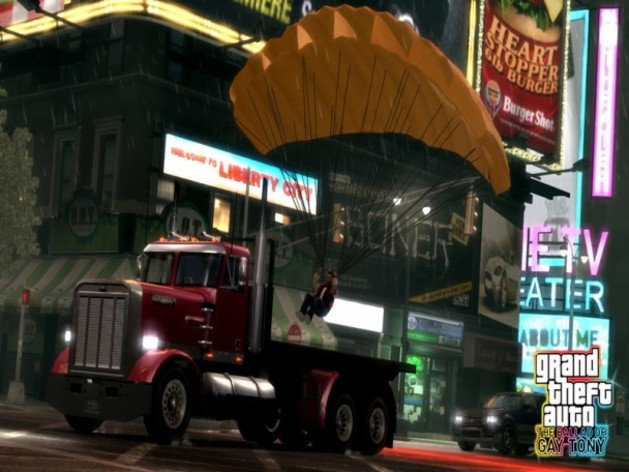 Screenshot 1 - Grand Theft Auto IV: The Ballad of Gay Tony
