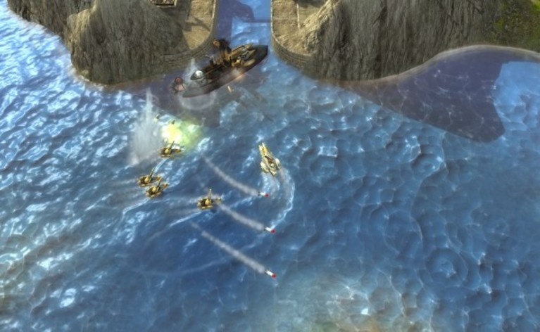 Screenshot 2 - Naval Warfare