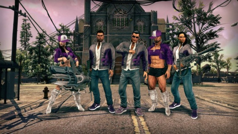 Screenshot 1 - Saints Row IV - GAT V