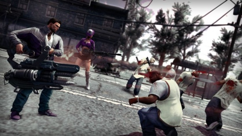 Screenshot 2 - Saints Row IV - GAT V