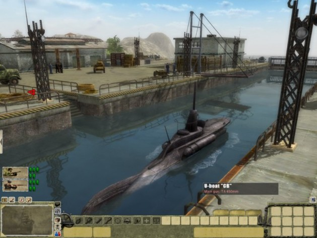 Screenshot 4 - Men of War Red Tide
