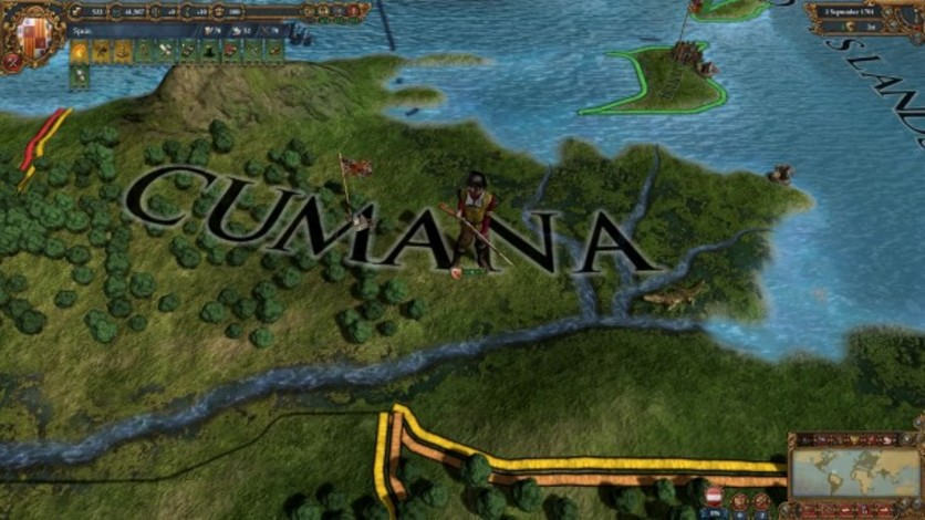 Screenshot 3 - Europa Universalis IV: Conquistadors Unit Pack