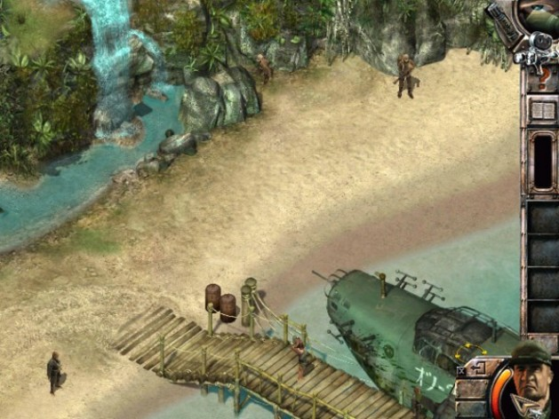 Screenshot 6 - Commandos 2: Men of Courage