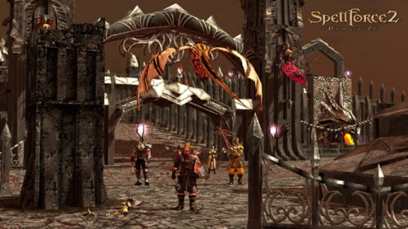 Screenshot 10 - SpellForce 2: Demons of the Past