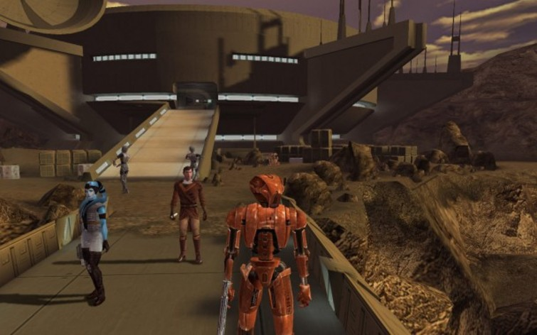 Screenshot 4 - Star Wars: Knights of the Old Republic (MAC)