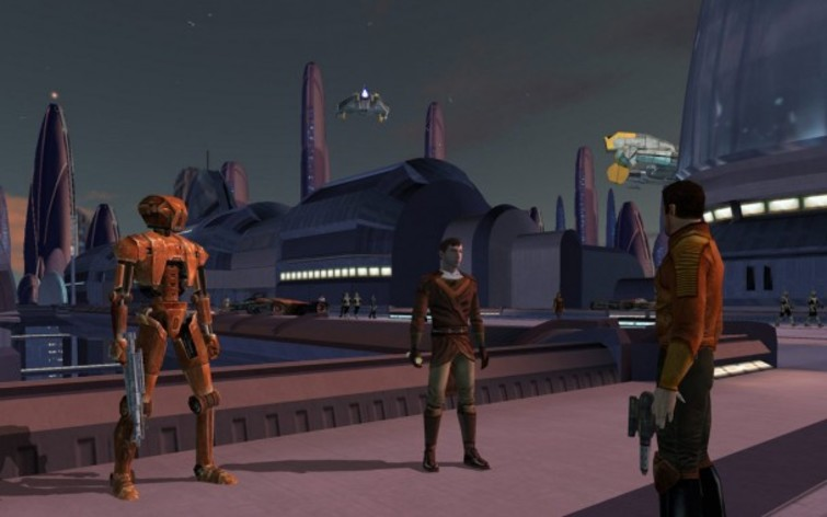 Screenshot 5 - Star Wars: Knights of the Old Republic (MAC)