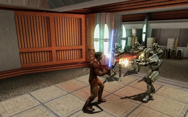 Screenshot 2 - Star Wars: Knights of the Old Republic (MAC)