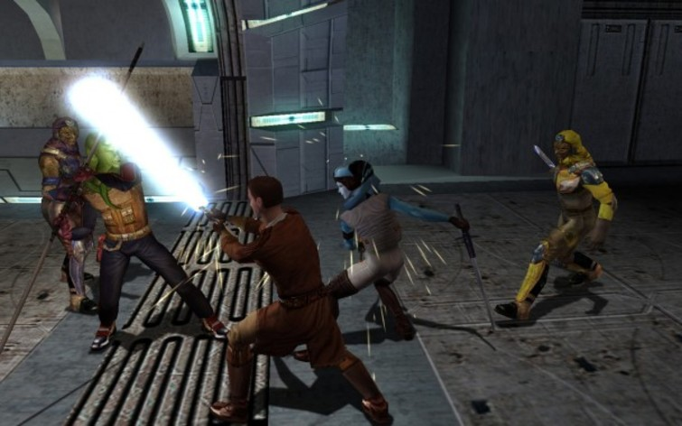 Screenshot 3 - Star Wars: Knights of the Old Republic (MAC)