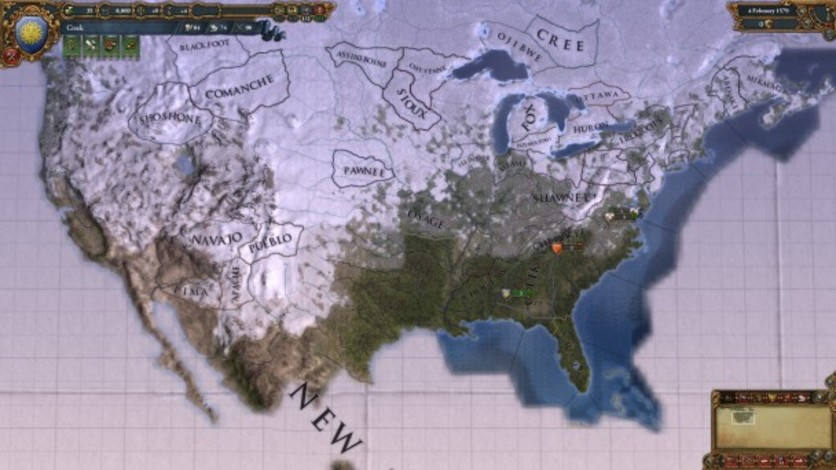 Screenshot 2 - Europa Universalis IV: Songs of the New World