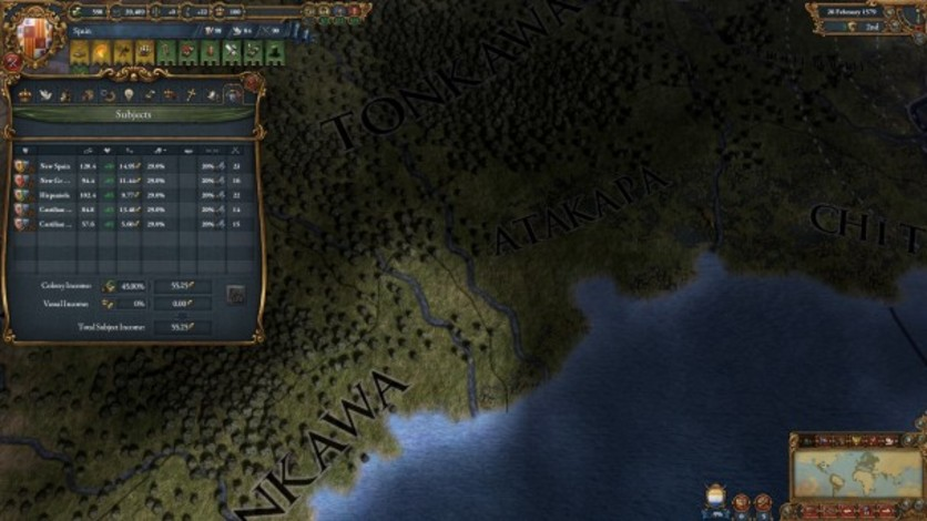 Screenshot 4 - Europa Universalis IV: Songs of the New World