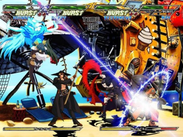 Screenshot 4 - Guilty Gear Isuka