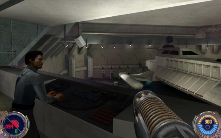 Screenshot 3 - Star Wars: Jedi Knight II: Jedi Outcast