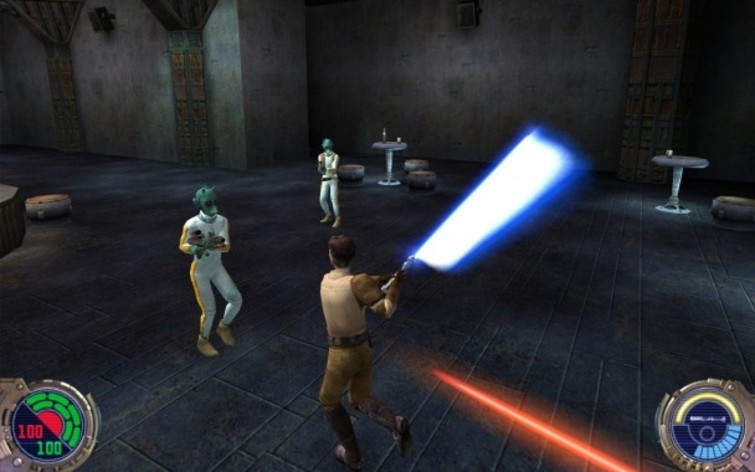 Screenshot 1 - Star Wars: Jedi Knight II: Jedi Outcast (MAC)