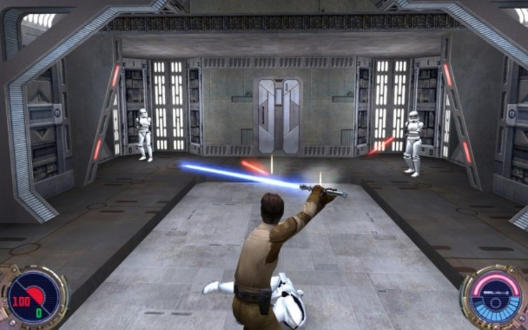 Screenshot 2 - Star Wars: Jedi Knight II: Jedi Outcast (MAC)
