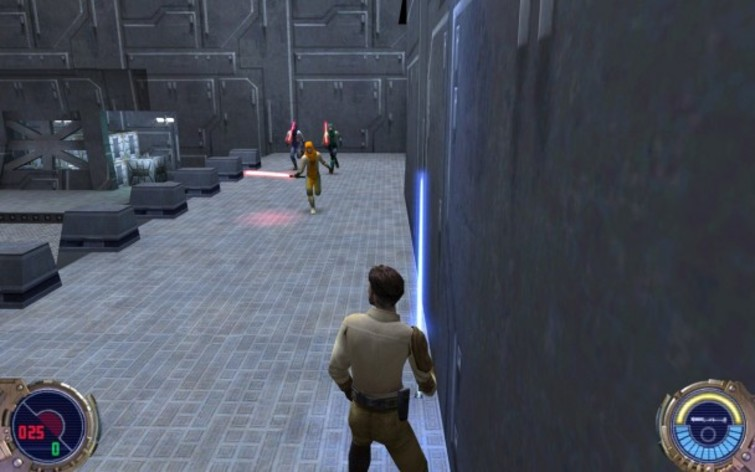 Screenshot 4 - Star Wars: Jedi Knight II: Jedi Outcast (MAC)