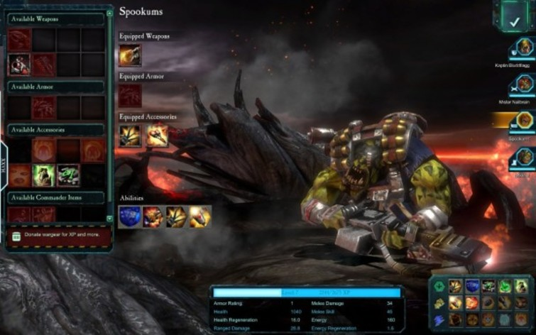 Screenshot 2 - Warhammer 40.000: Dawn of War II Retribution