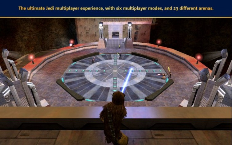 Screenshot 5 - Star Wars: Jedi Knight: Jedi Academy (Mac)