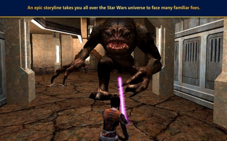 Screenshot 3 - Star Wars: Jedi Knight: Jedi Academy (Mac)