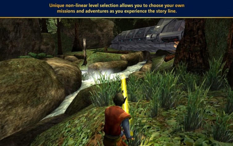 Screenshot 2 - Star Wars: Jedi Knight: Jedi Academy (Mac)