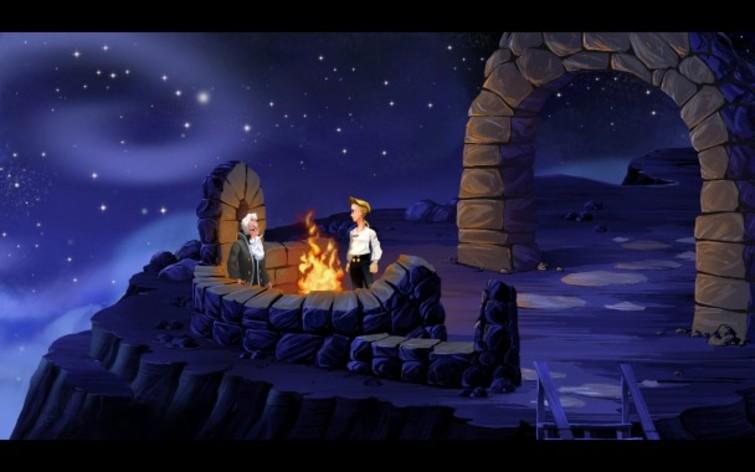 Screenshot 1 - The Secret of Monkey Island - Special Edition (MAC)