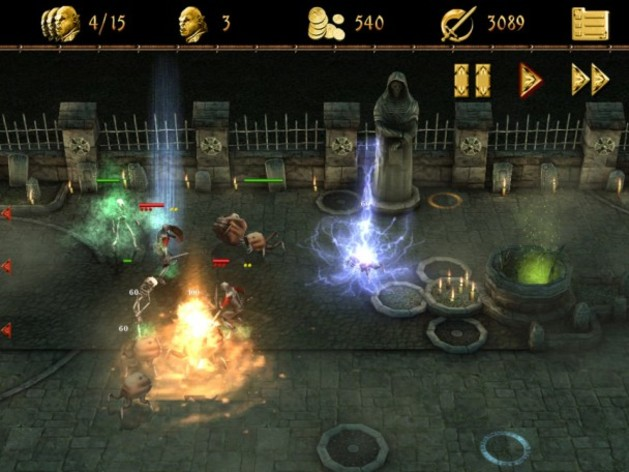 Screenshot 4 - Two Worlds II Castle Defense