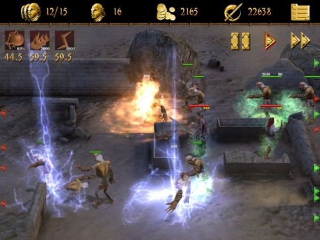 Screenshot 1 - Two Worlds II Castle Defense
