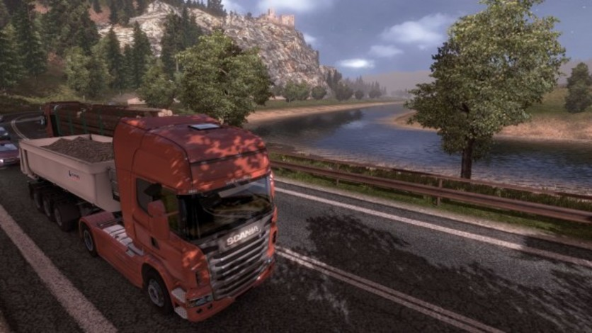 Screenshot 1 - Euro Truck Simulator 2: Going East