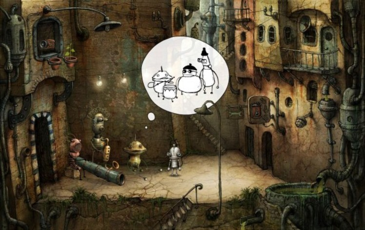 Screenshot 2 - Machinarium