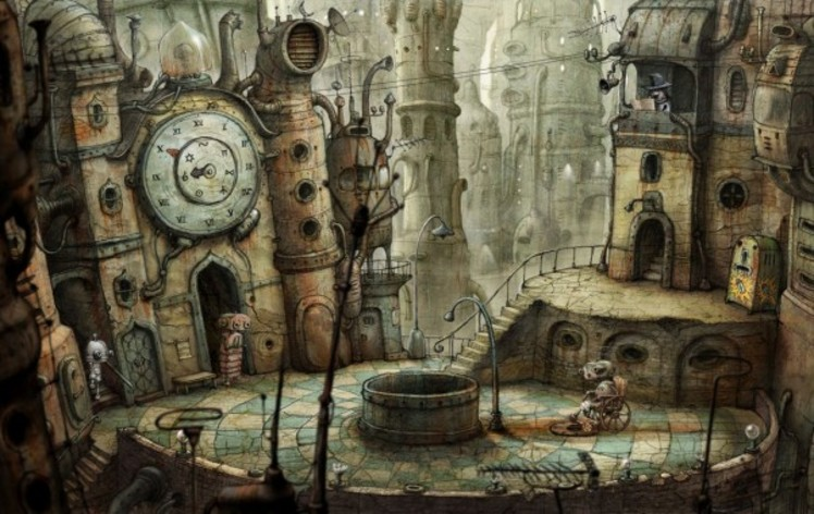 Screenshot 4 - Machinarium