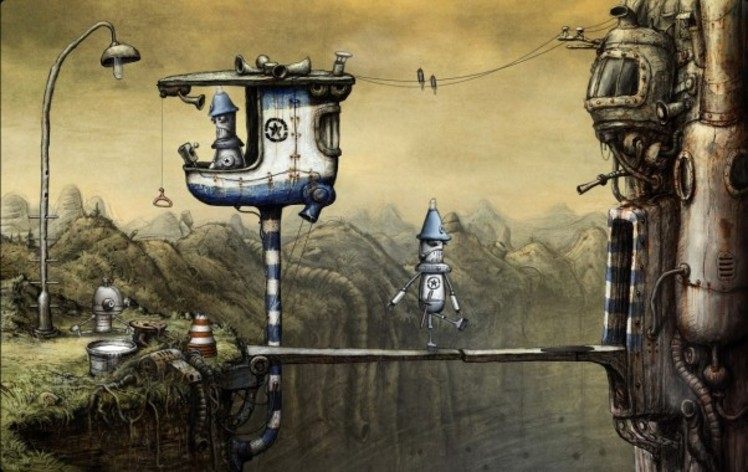 Screenshot 9 - Machinarium