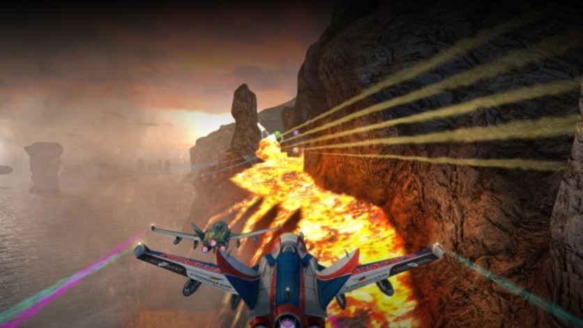 Screenshot 2 - SkyDrift: Extreme Fighters Premium Airplane Pack