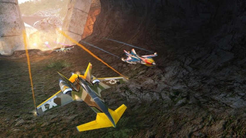 Screenshot 1 - SkyDrift: Extreme Fighters Premium Airplane Pack