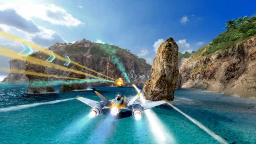 Screenshot 6 - SkyDrift: Extreme Fighters Premium Airplane Pack