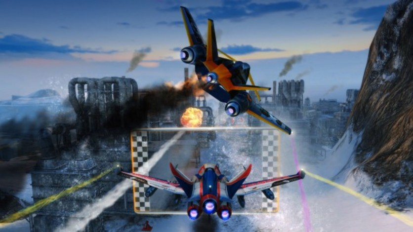 Screenshot 3 - SkyDrift: Extreme Fighters Premium Airplane Pack