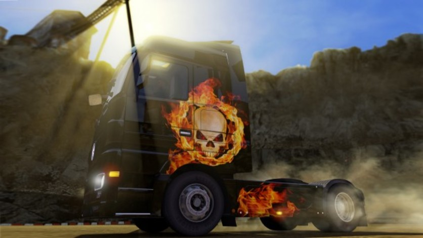Screenshot 2 - Euro Truck Simulator 2: Halloween Paint Jobs Pack