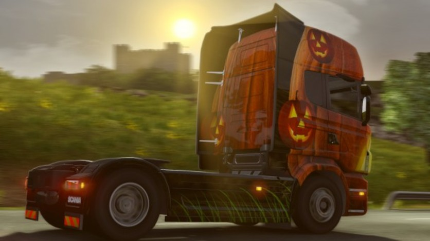 Screenshot 5 - Euro Truck Simulator 2: Halloween Paint Jobs Pack