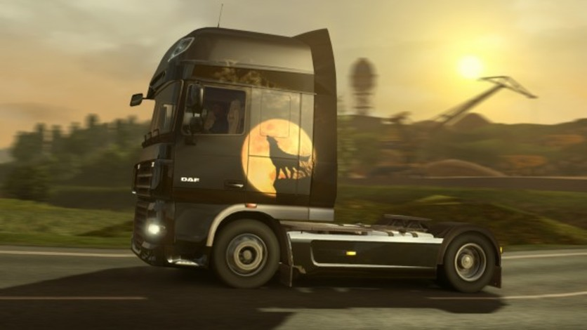 Screenshot 6 - Euro Truck Simulator 2: Halloween Paint Jobs Pack