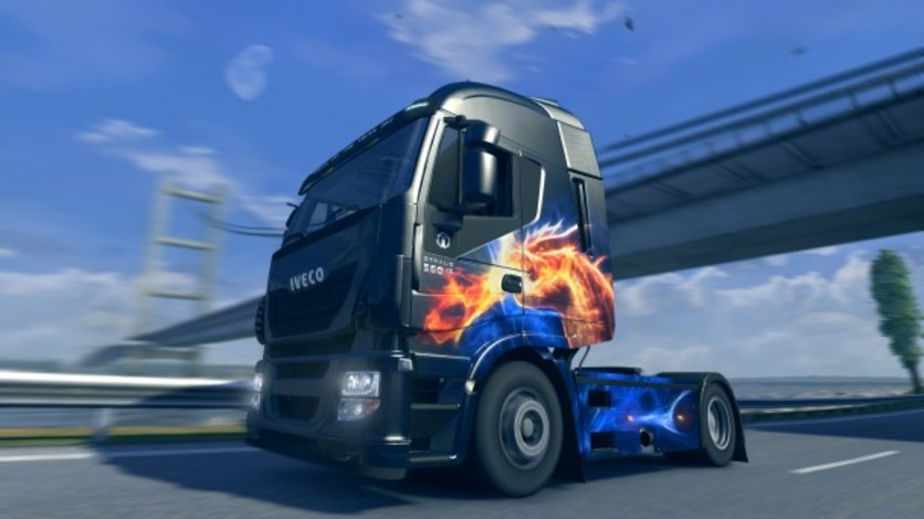 Screenshot 3 - Euro Truck Simulator 2: Halloween Paint Jobs Pack
