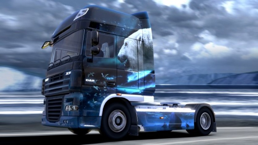 Screenshot 7 - Euro Truck Simulator 2: Ice Cold Paint Jobs Pack